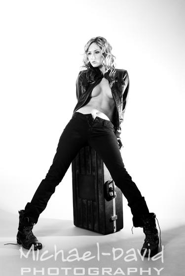 Female model photo shoot of Danielle Lynn Geffs by Michael-David Inc