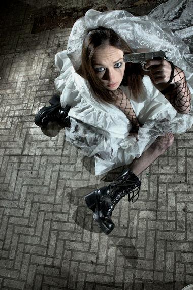 Jan 24, 2009 Michael Corben Model Melissa- Suicidal bride