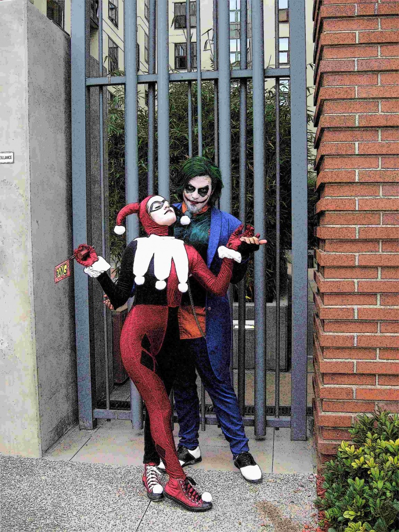 Downtown San Diego Jan 25, 2009 Harley Quinn & The Joker