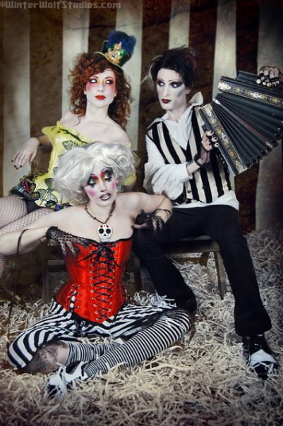 Jan 25, 2009 For Gothic Beauty Magazine! Hair by Christopher Fiffe