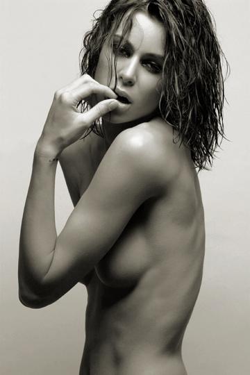 NYC Jan 25, 2009 KadeLam Model Kerstin. Make up by Jewel. Hair by LacyR.