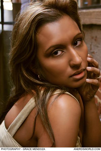 Female model photo shoot of VDH MakeupArtistryNhair in Toronto