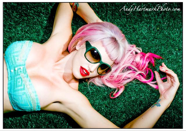 Vegas Jan 26, 2009 andy hartmark Julie Leigh Bolene