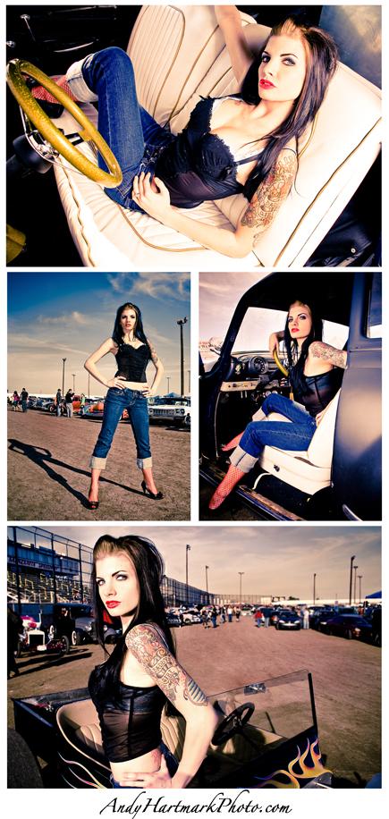 Ol Skool Fest Jan 26, 2009 andy hartmark Carly Lynn