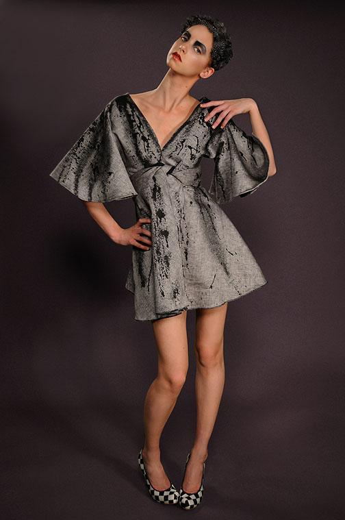 Jan 26, 2009 Daniel Gagnon Photography Wool Splatter Dress