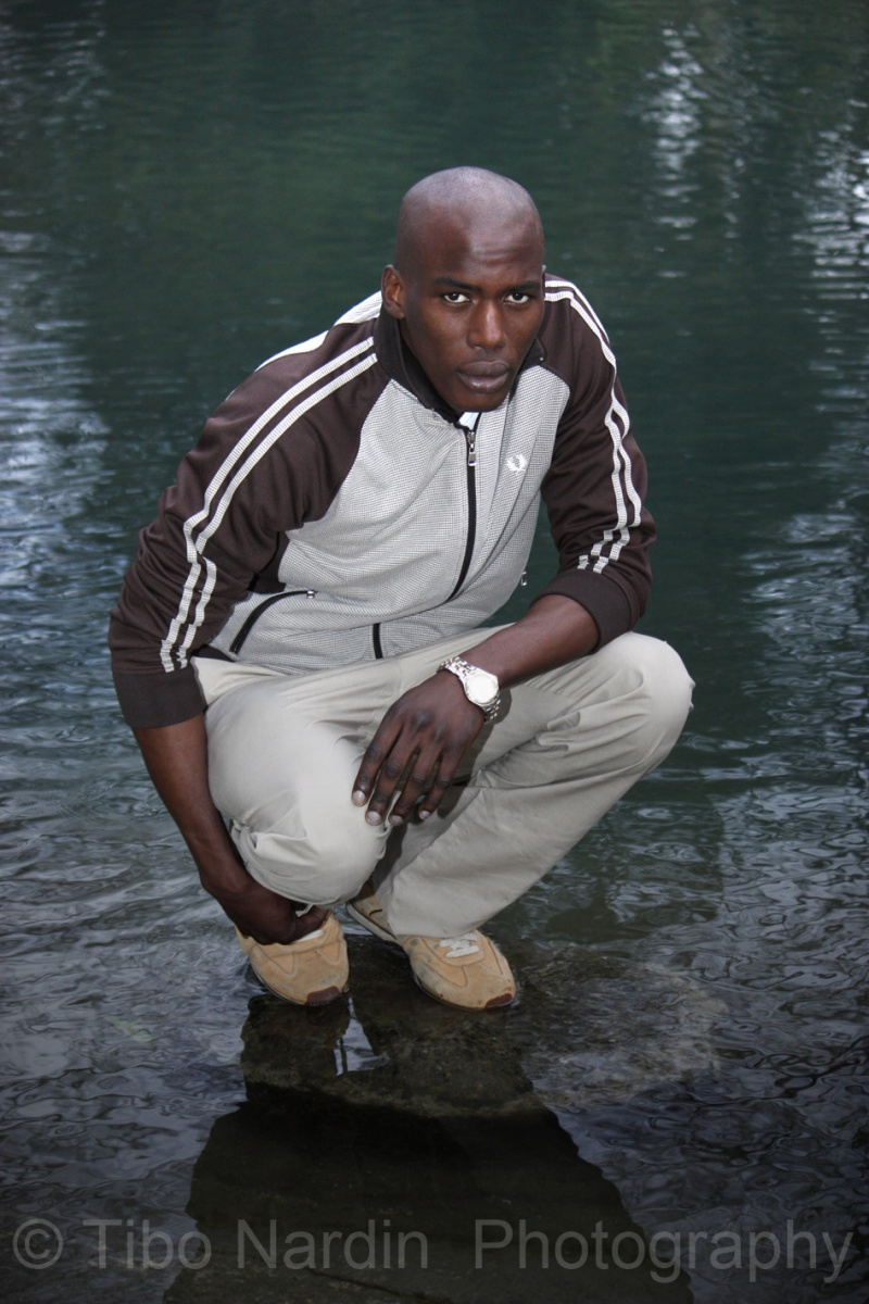 Male model photo shoot of doucoure sidy