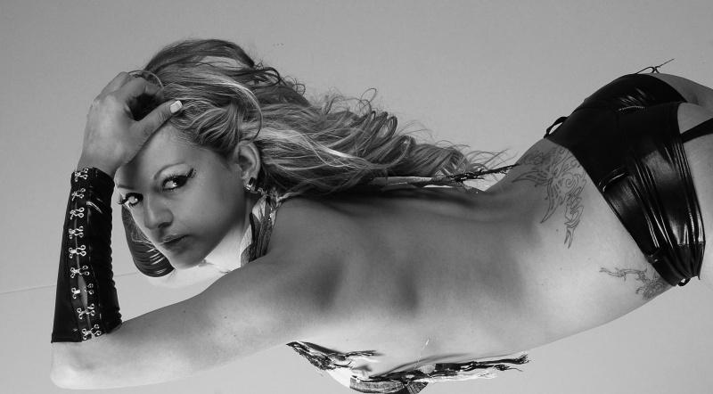 Female model photo shoot of Synchestra