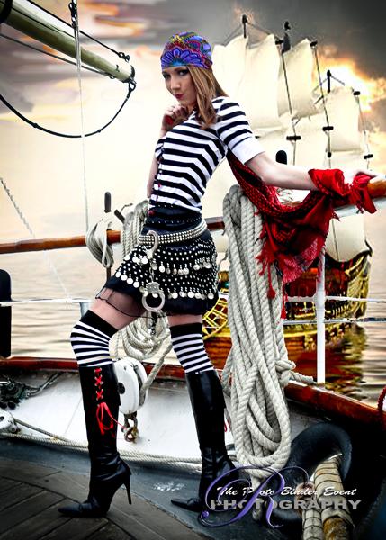 Galveston, TX Jan 28, 2009 Ellisa Ship, ThePhotoBinder.com Pirate Ship Shoot Out