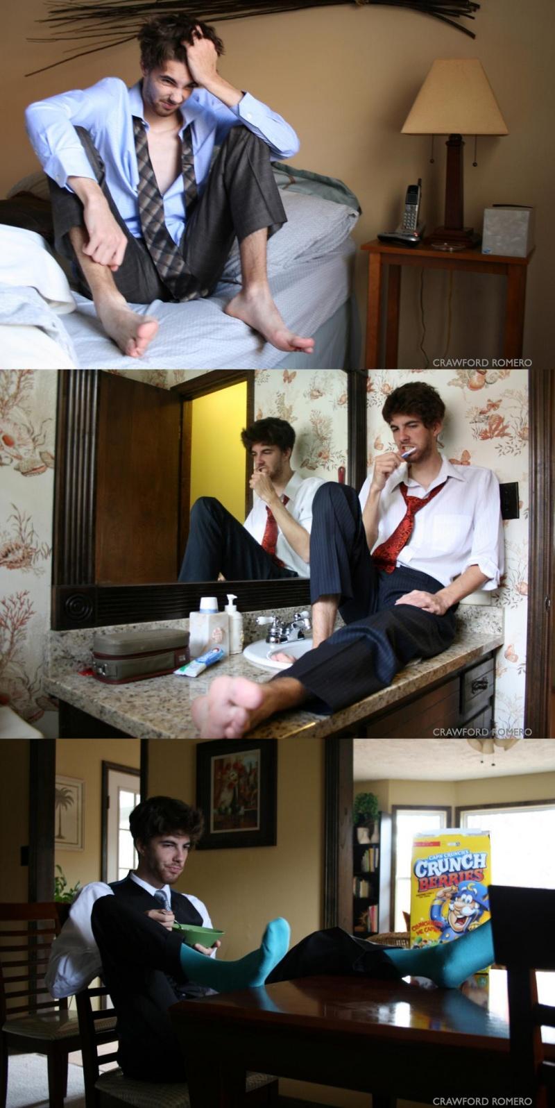 Atlanta Jan 31, 2009 &copy Crawford Romero  At Home With... Michael