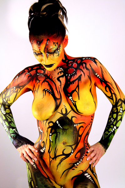 st. thomas, On Jan 31, 2009 Sean Avram -Photography and Body Paint Oragana