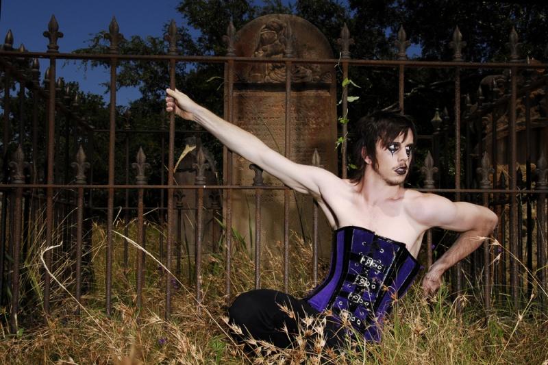 Newtown Jan 31, 2009 Model Soul Brendan Maclean in Gallery Serpentine