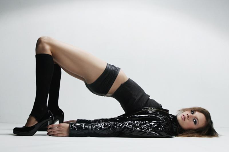 Female model photo shoot of Cheyenne Summer by Josue Pena in Hollywood
