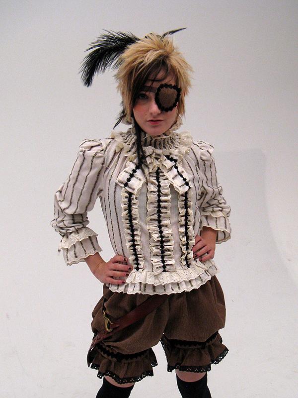 MCAD Photo Studio Feb 01, 2009 SGMS Fashion Show - Pirate Outfit