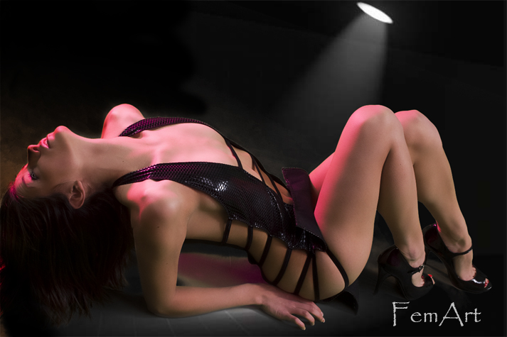 Male and Female model photo shoot of FemArt and Princess Kel