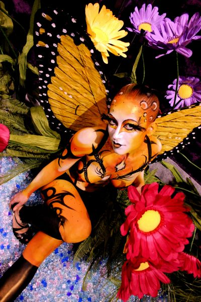 Houston Feb 02, 2009 mehron NYC Bodypaint by Jinny, mehron