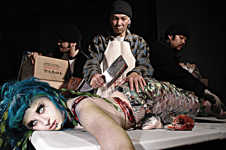 Feb 03, 2009 Carte- Blanche Photo, Punch Zombie FX Mermaid Sushi