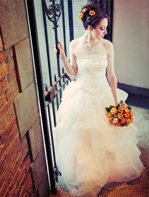 Seattle  Feb 03, 2009 © Volya Dzemka Editorial Bridal. Model: Anne. Styling:me.