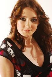 Female model photo shoot of Sarah Sharpe in London studio