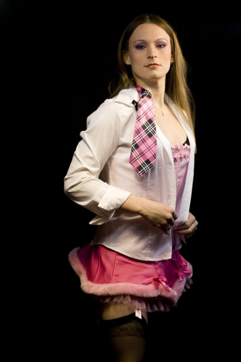 Waltham, MA Feb 08, 2009 Behind The Glass Photography Model: Charlie Girl; MUA: Stephanie Rinda