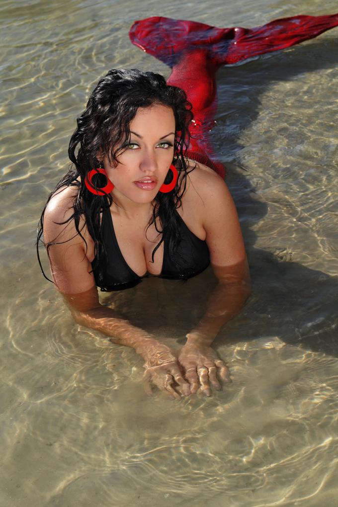 Florida on Mermaid island Feb 08, 2009 Annette Batista La Sirena