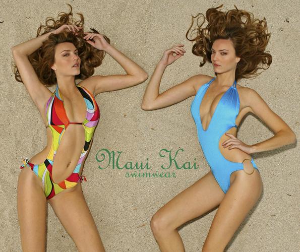 Miami Beach Feb 09, 2009 Pex Maui Kai Swimwear Catalog