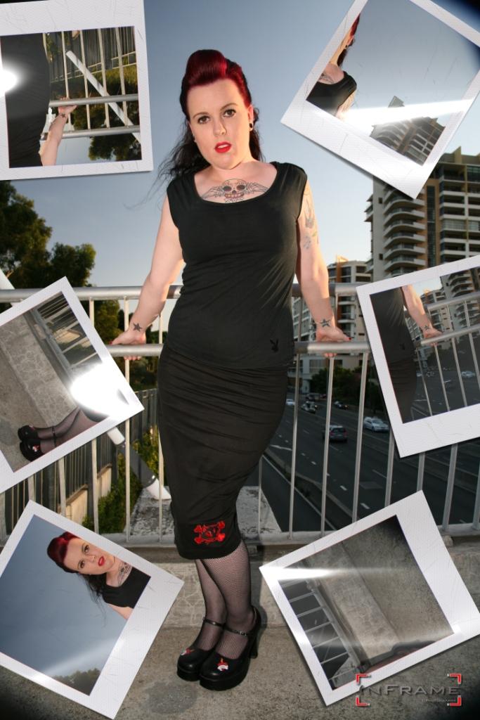 Female model photo shoot of Rockabilly Kitten by InFrameImaging