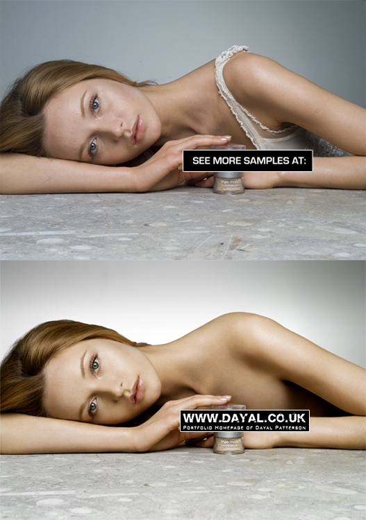 Feb 10, 2009 Makeup Editorial Advert - including clothes removal (www.dayal.co.uk)