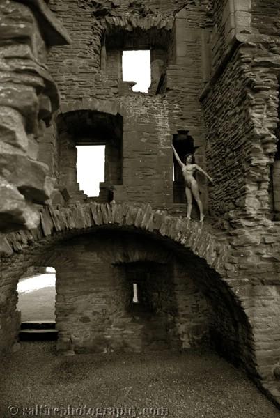 Scotland Feb 10, 2009 Saltire Photography 13th Century abbey