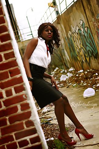 Female model photo shoot of Faith Le Supermodele by Rsphotodesign in Atlanta, Georgia