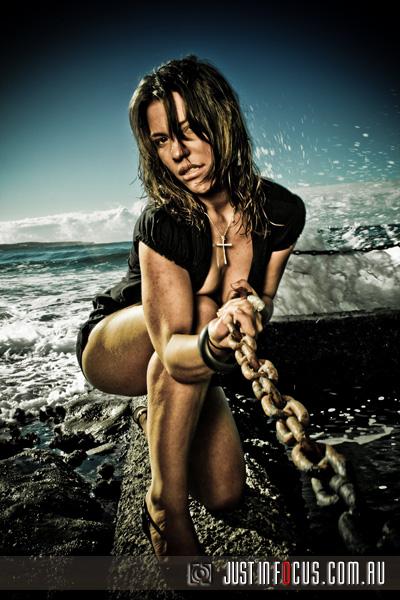 Cronulla Sea Pool Feb 11, 2009 Justinfocus Pullin the Chain...