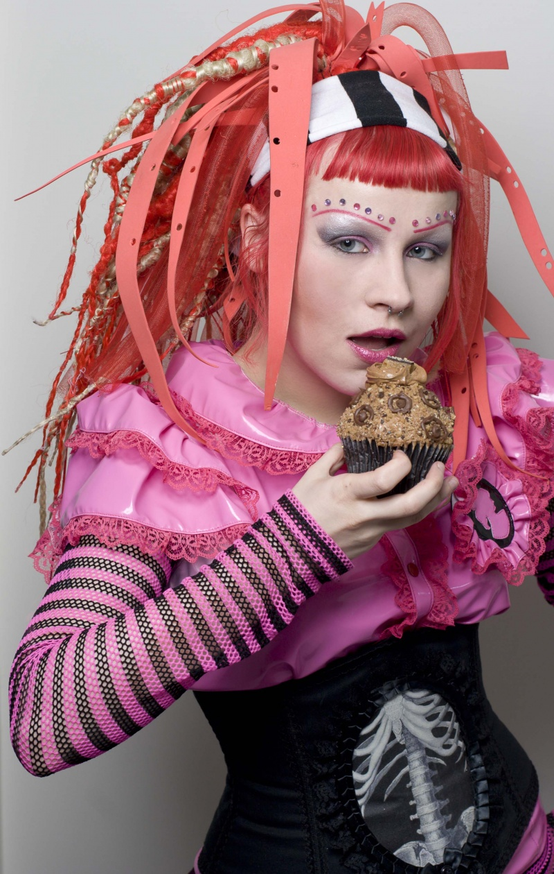 Buffalo, NY Feb 14, 2009 Luke Copping I could never decide whether I wanted to be an android princess or Malibu Barbie. I decided to have my [cup]cake & eat it too.