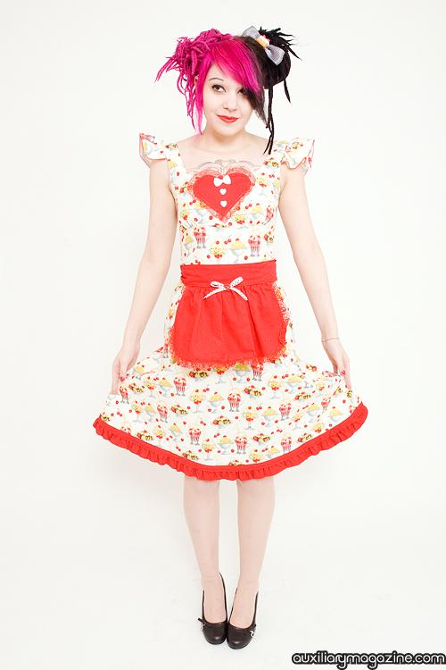 Buffalo, NY Feb 14, 2009 www.auxiliarymagazine.com Ice Cream Sundae Dress with apron