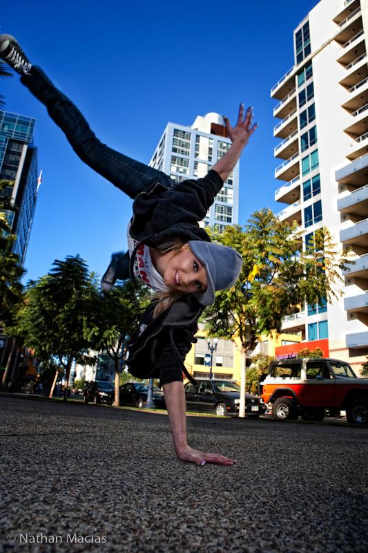 Down Town San Diego Feb 14, 2009 © Nathan Macias Kindra Freestyle