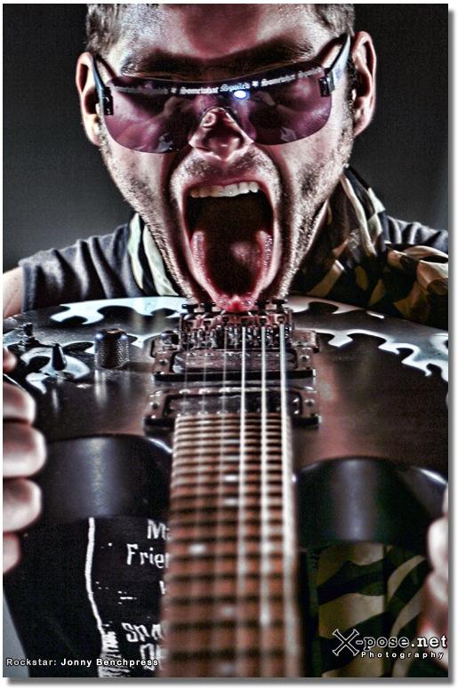 Feb 14, 2009 Jonny Benchpress - Promo photos for my new band