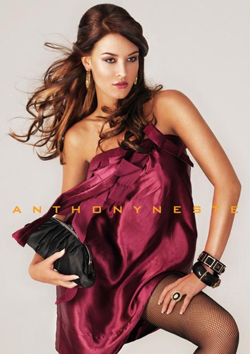 Male and Female model photo shoot of ANTHONY NESTE and Alanna Kolette in IMAGE , wardrobe styled by Jessica Neste