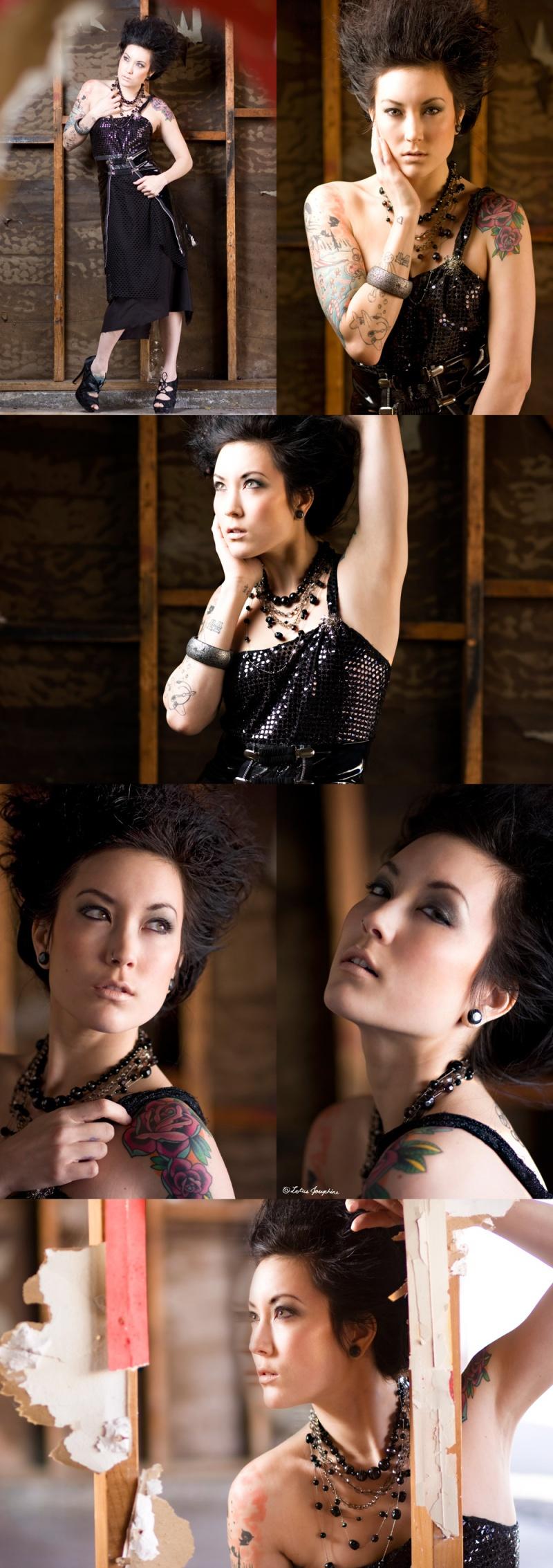 Female model photo shoot of Alena Dawn Stylist MUA and Brittany Bao by Lotus Josephine Studios, makeup by Nicole True and Erica Acevedo