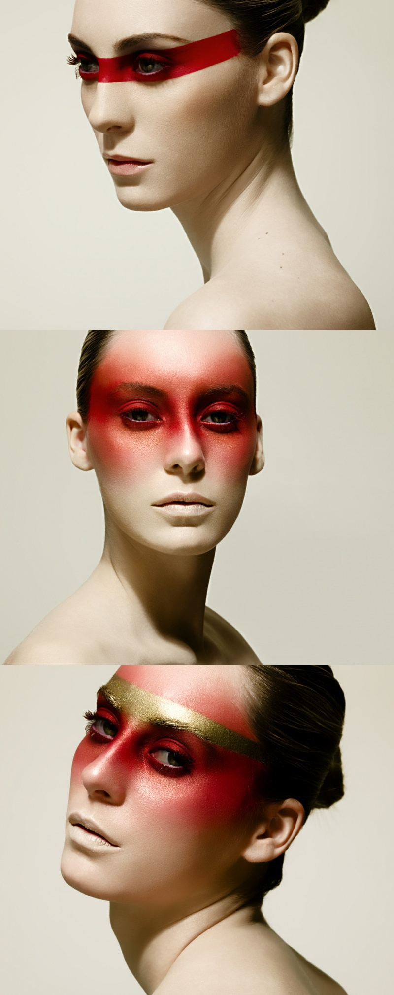 Female model photo shoot of make up with erica in Paris ooh la la!