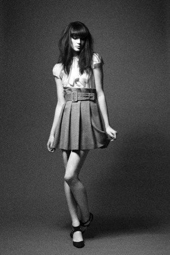 Female model photo shoot of milk and honey styling