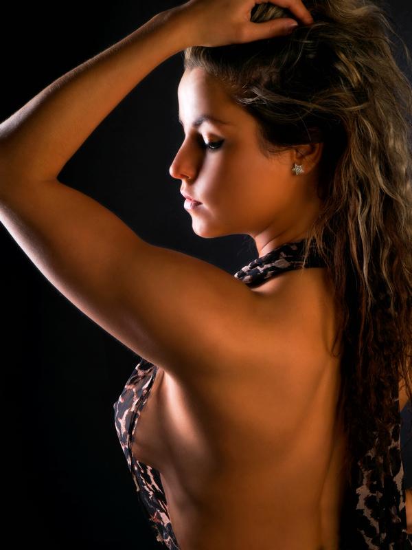 Female model photo shoot of PaulinkaG by Miri LondonPhotographer in Studio
