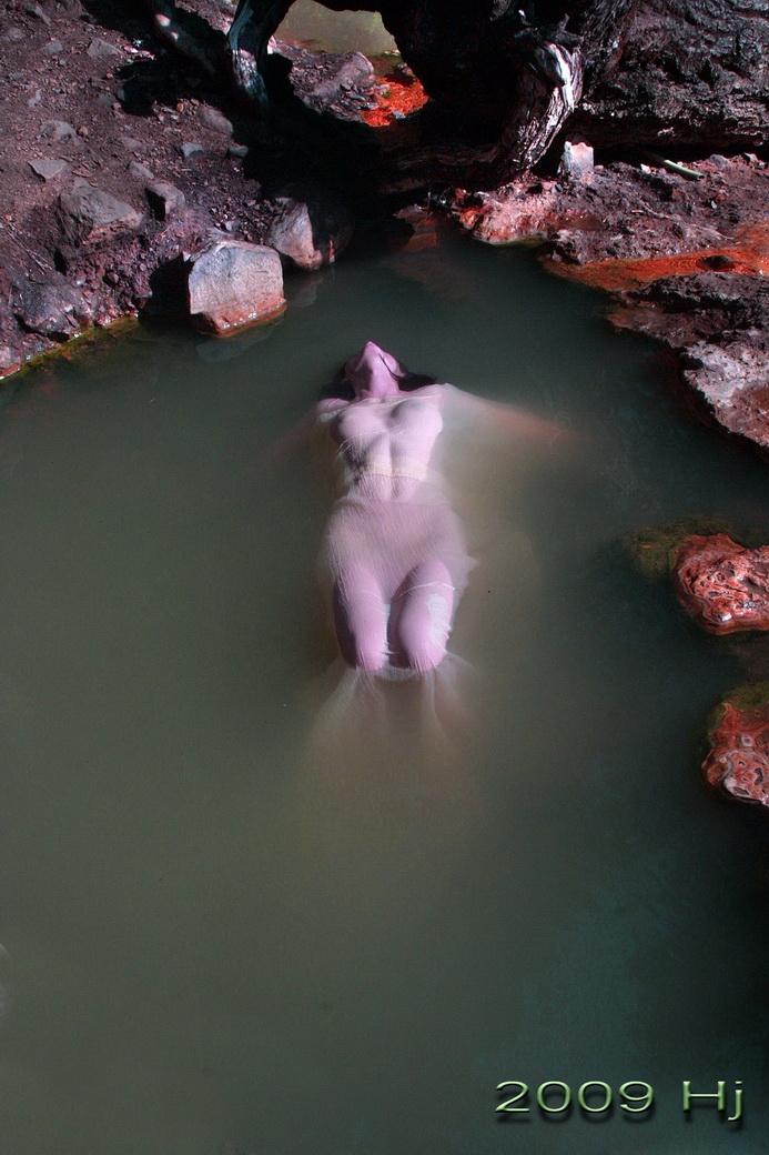Tokette Hot Springs Feb 17, 2009 2009 Hj Dreampretty-Top Pool of 7 Pools 108 degrees