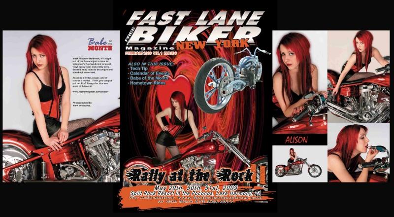 Long Island, NY Feb 17, 2009 Mark V Fast Lane Biker magazine NY Feb 2009