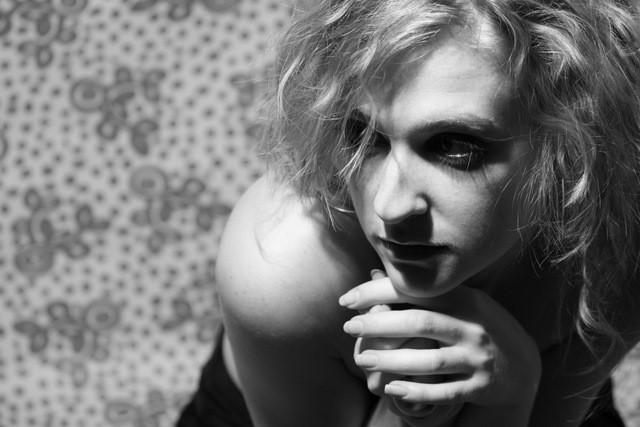 Female model photo shoot of Vicki Powell in Studio