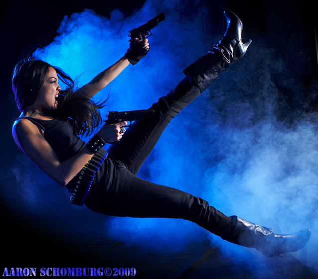 Feb 19, 2009 Aaron Schomburg 2009 Latina Lara Croft