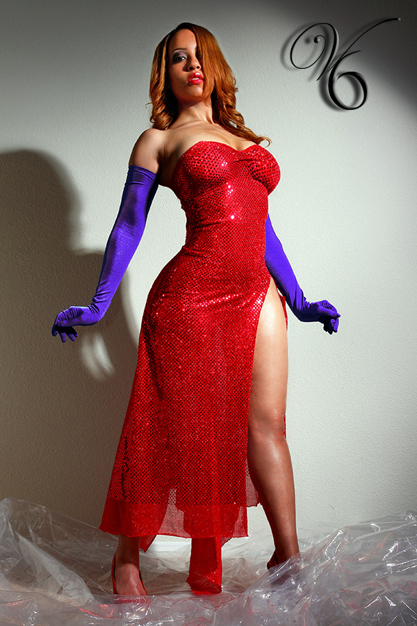 Basic hair&make up by me Feb 20, 2009 http://www.rhotographic.com/ & Vickie6.com You know who.....Jessica Rabbit;)