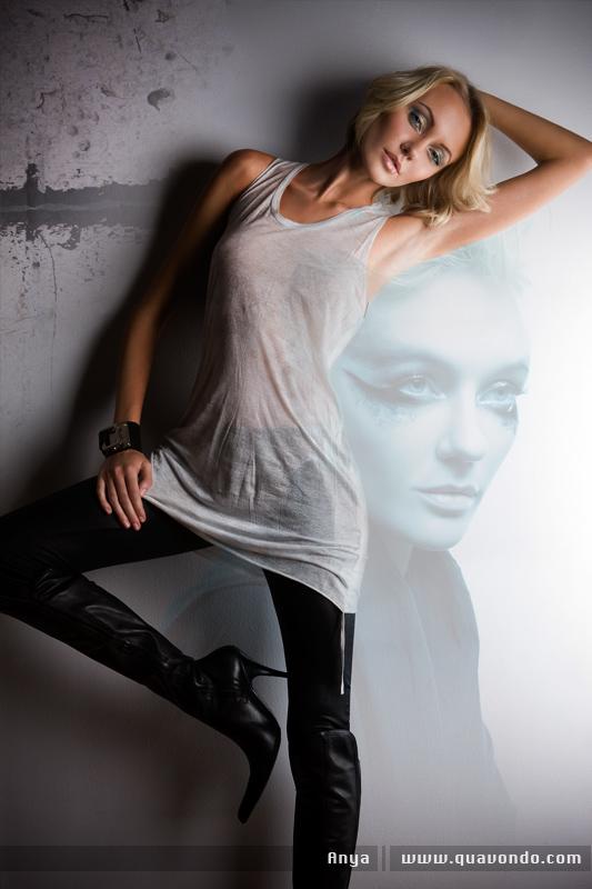 Male model photo shoot of Quavondo in Make up: Ayumi Hair: Ayame