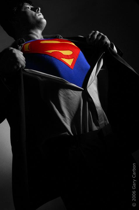 Feb 22, 2009 Photo Gary Carbon 2009,  Superman DC comics 2009 Superman