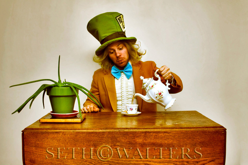 Cedar Rapids, IA Feb 22, 2009 Seth Walters Photography 2009 Mad Hatter (self portrait)