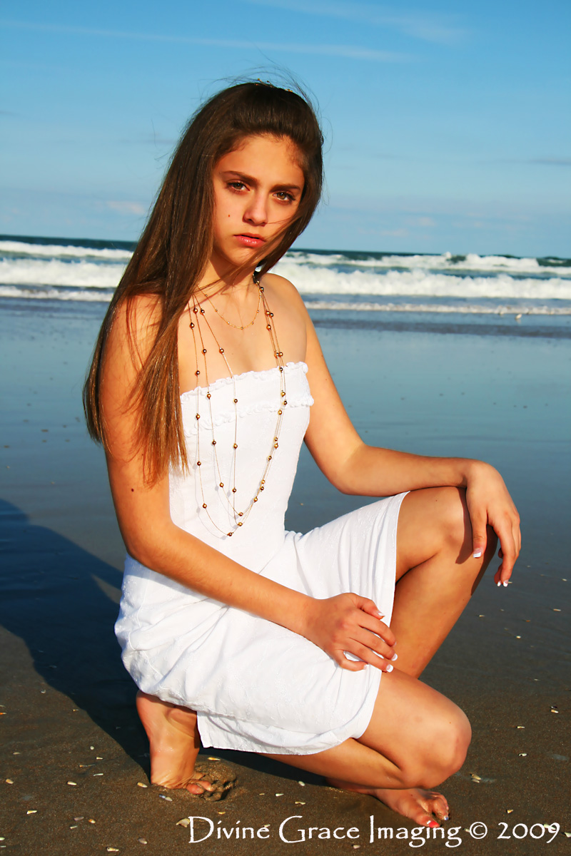 Daytona Beach, FL Feb 22, 2009 Divine Grace Imaging © 2009 (hair style, outfit & jewelry provided by me!) Marisa