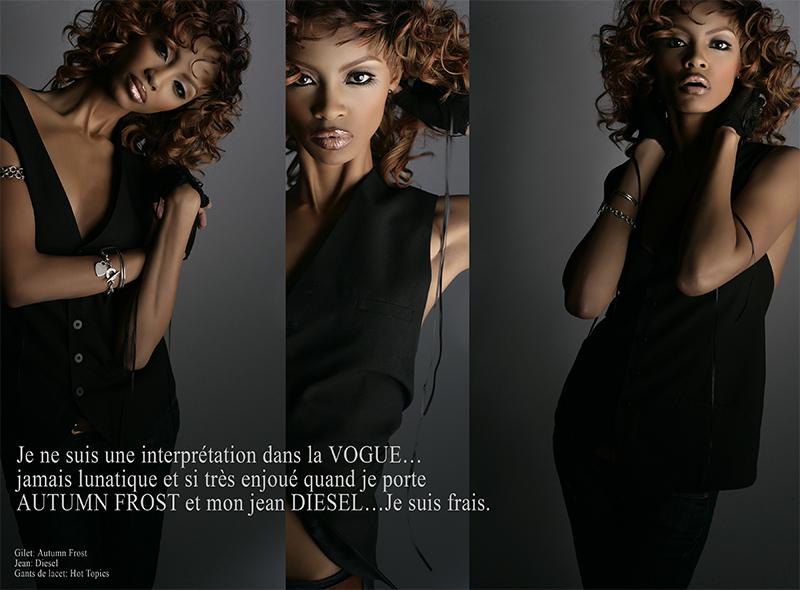 Paris. Feb 22, 2009 Beverli French Vogue.