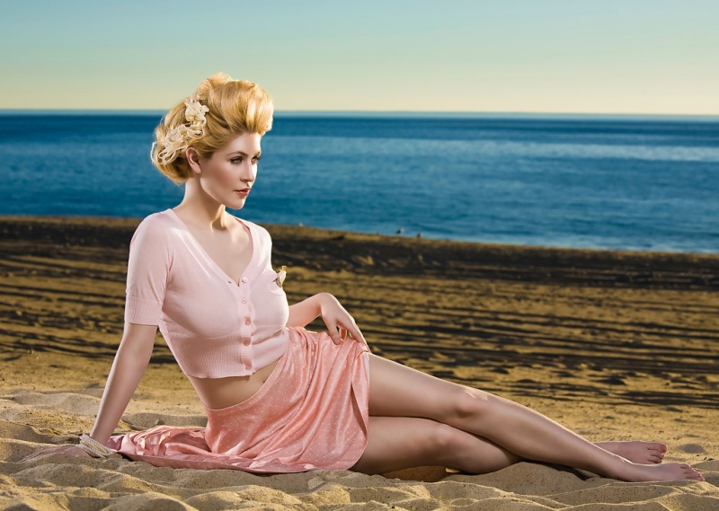 Feb 23, 2009 Photographer: Khoa , Mua/ Hair: Felvi  Wardrobe: Gaia clothing Seaside Romance